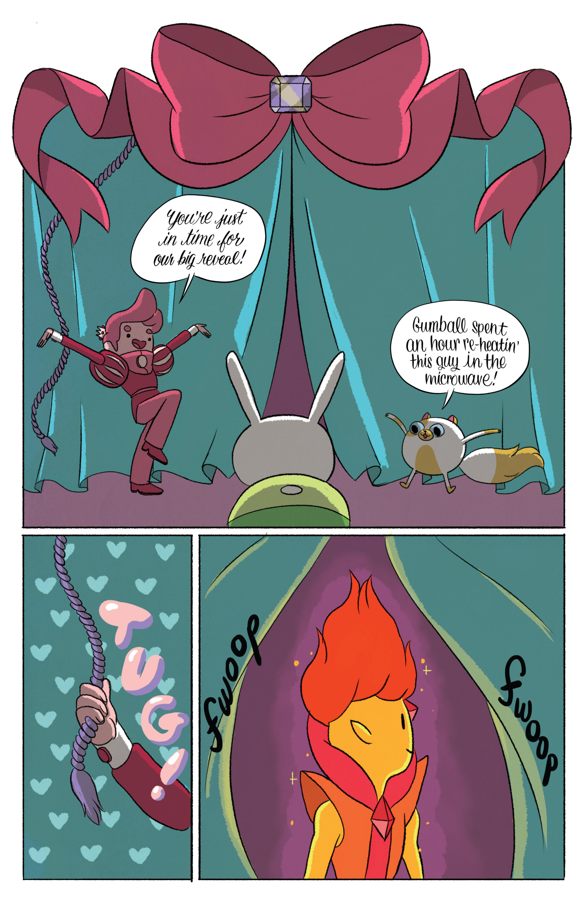 Read online Adventure Time with Fionna & Cake comic -  Issue #5 - 9