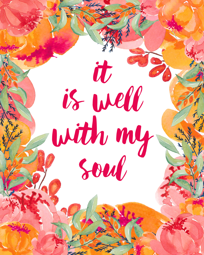 photograph relating to It is Well With My Soul Printable identify It Is Properly With My Soul Absolutely free Printable i must be mopping