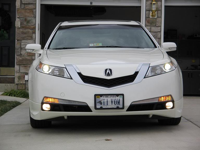 Front Licence Plate Acurazine Acura Enthusiast Community