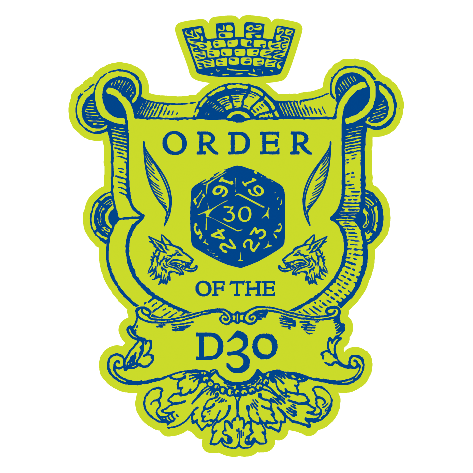 Order of the d30 2.0
