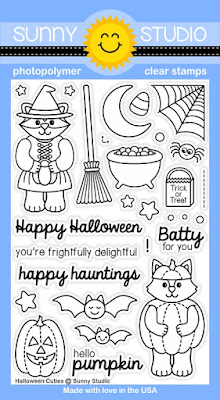 Sunny Studio Stamps: Introducing Halloween Cuties Stamp Set