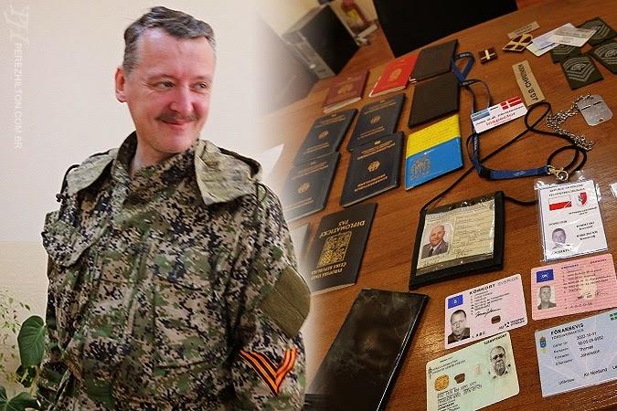 Strelkov - comandante rebelde
