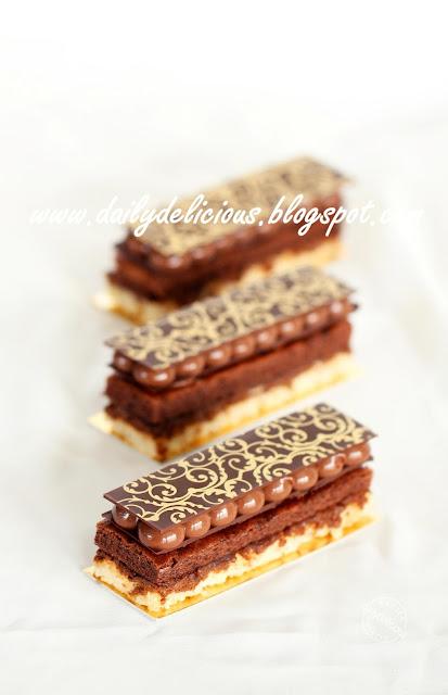 Chocolate Marble Pecan Cake