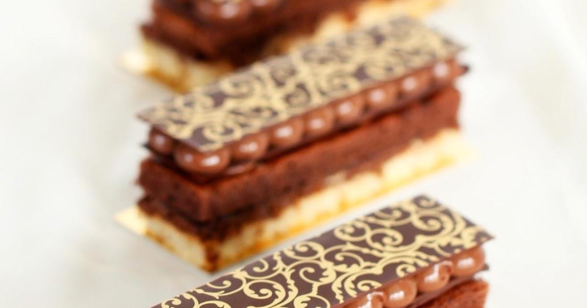 Dailydelicious: Chocolat Crémeux: Chocolate Rich Entremet