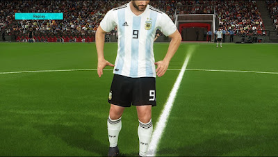 PES 2017 World Cup 2018 Kitpack + National Teams by Lucas RK Kitmaker