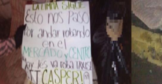 """""""La limpia sigue"""": El Cártel de Sinaloa descuartiza a 3 supuestos ladrones que robaban a mano armada"""