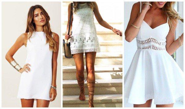 Τα λευκά φορέματα είναι ένα από τα ρούχα που φοριέται ιδιαίτερα το καλοκαίρι  καθώς είναι κατάλληλο για ένα cocktail party αλλά και για ένα  Σαββατοκύριακο ... f104a15dcfc