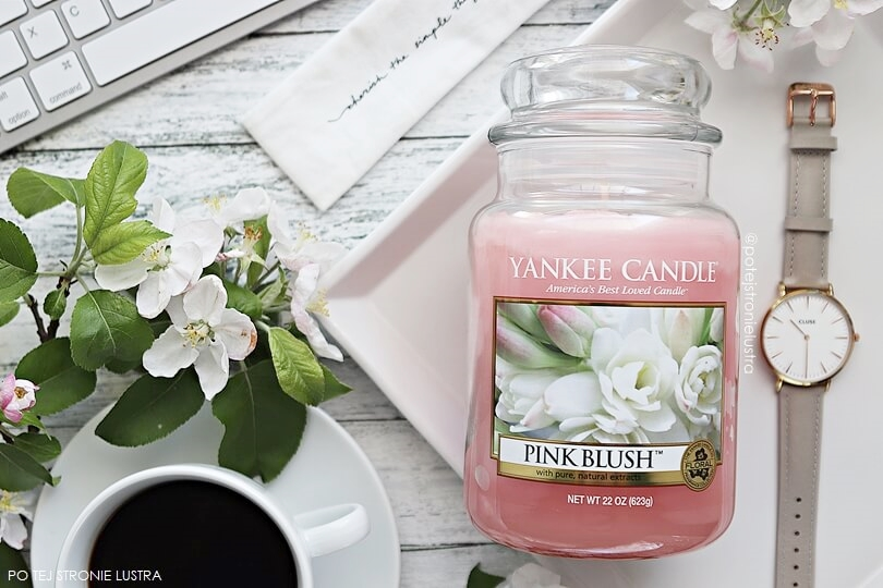 yankee candle pink blush