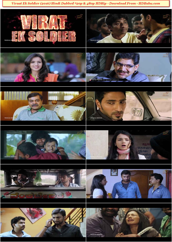 Viraat Ek Soldier Hindi Dubbed Full Movie Download