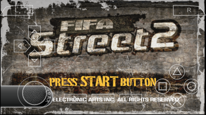Download  FIFA Street 2 PPSSPP CSO High Compress 73MB