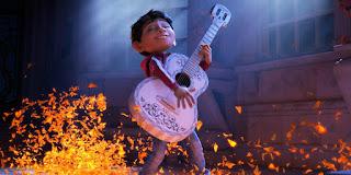 Escena de la película Coco