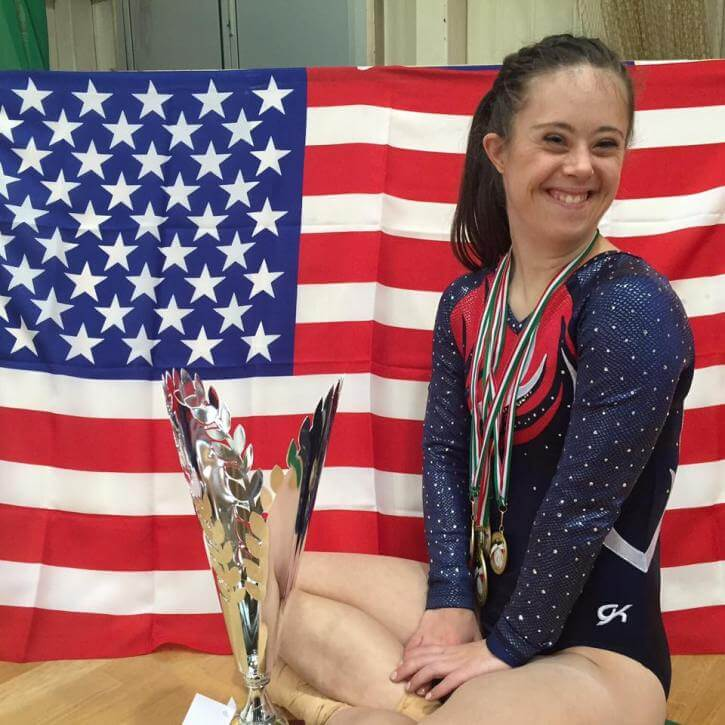 Meet Chelsea Werner, The Champion Gymnast With Down Syndrome Who Became A Successful Model