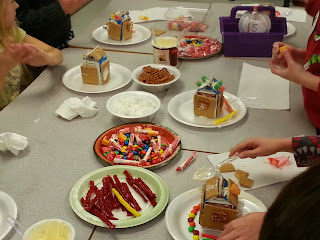 Primary activities with gingerbread for holiday weeks