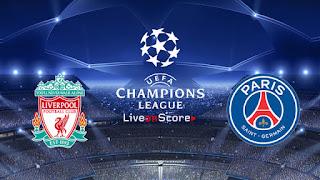 باريس سان جيرمان و ليفربول بث مباشر