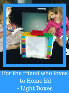 Home Education Light Box Play and learning