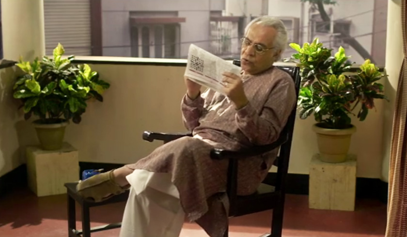 Byomkesh Bakshi with Crossword
