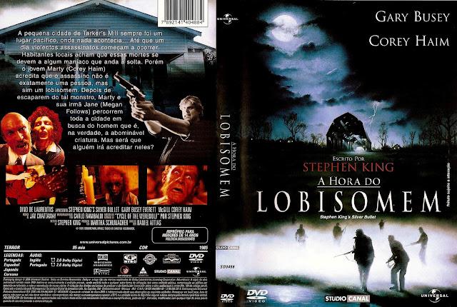 Capa DVD A Hora do Lobisomem
