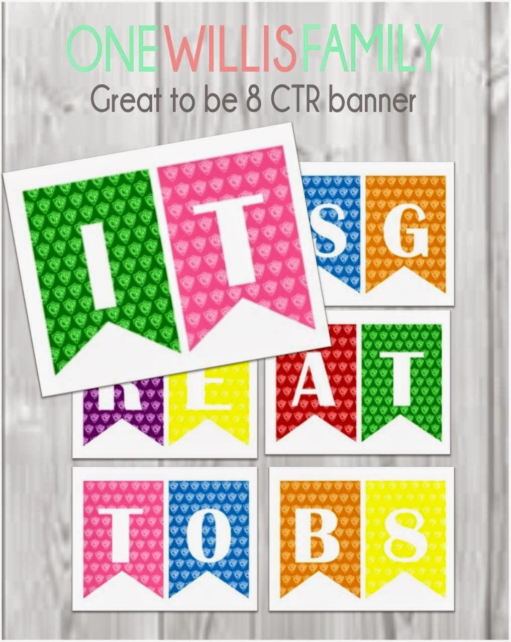 CTR printable banner