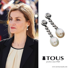 Queen Letizia TOUS Jewelry Earrings