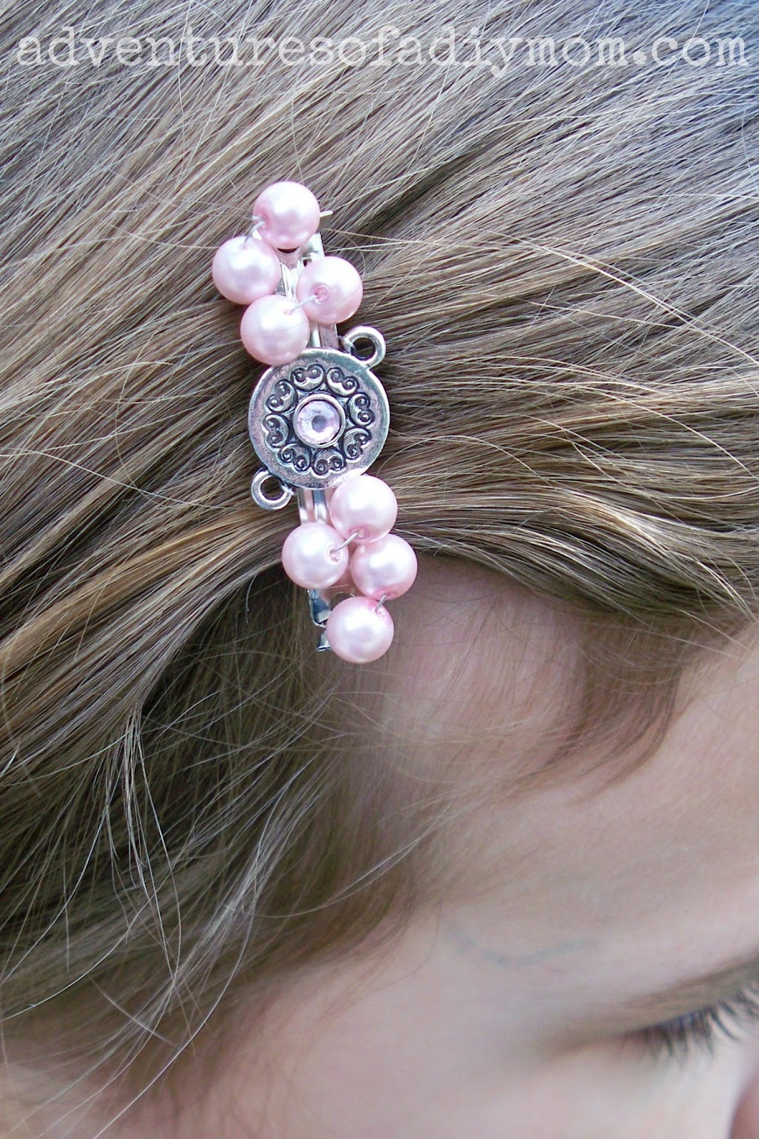 How To Make Beaded Hair Clips Adventures Of A Diy Mom