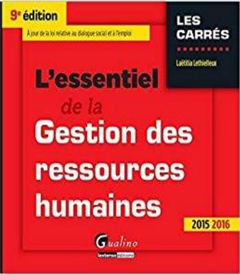 L'essentiel de la gestion des ressources humaines 2015-2016