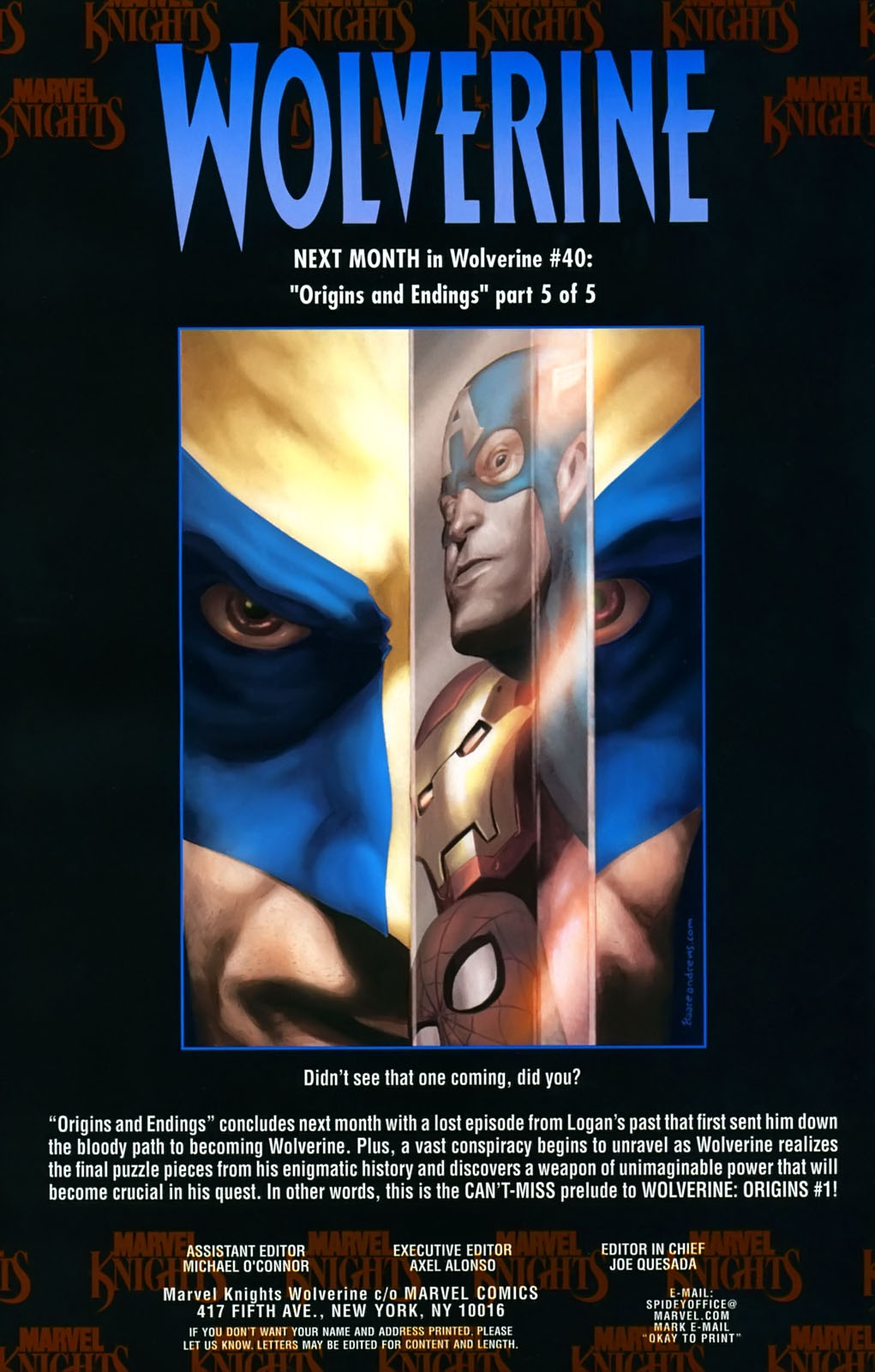 Read online Wolverine (2003) comic -  Issue #39 - 25