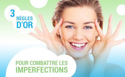 soins visage anti imperfections produits boutons points noirs