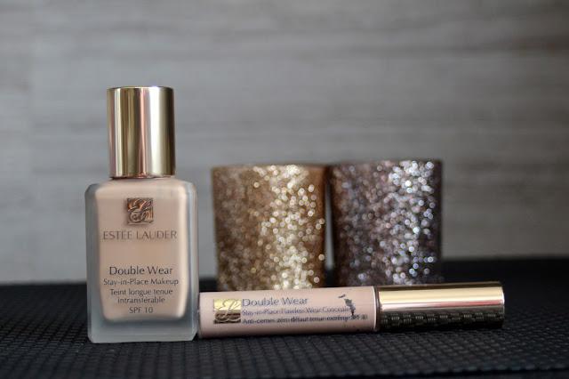 Estee Lauder Double Wear foundation + concealer