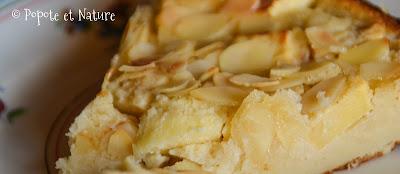 Moelleux pommes amande © Popote et Nature