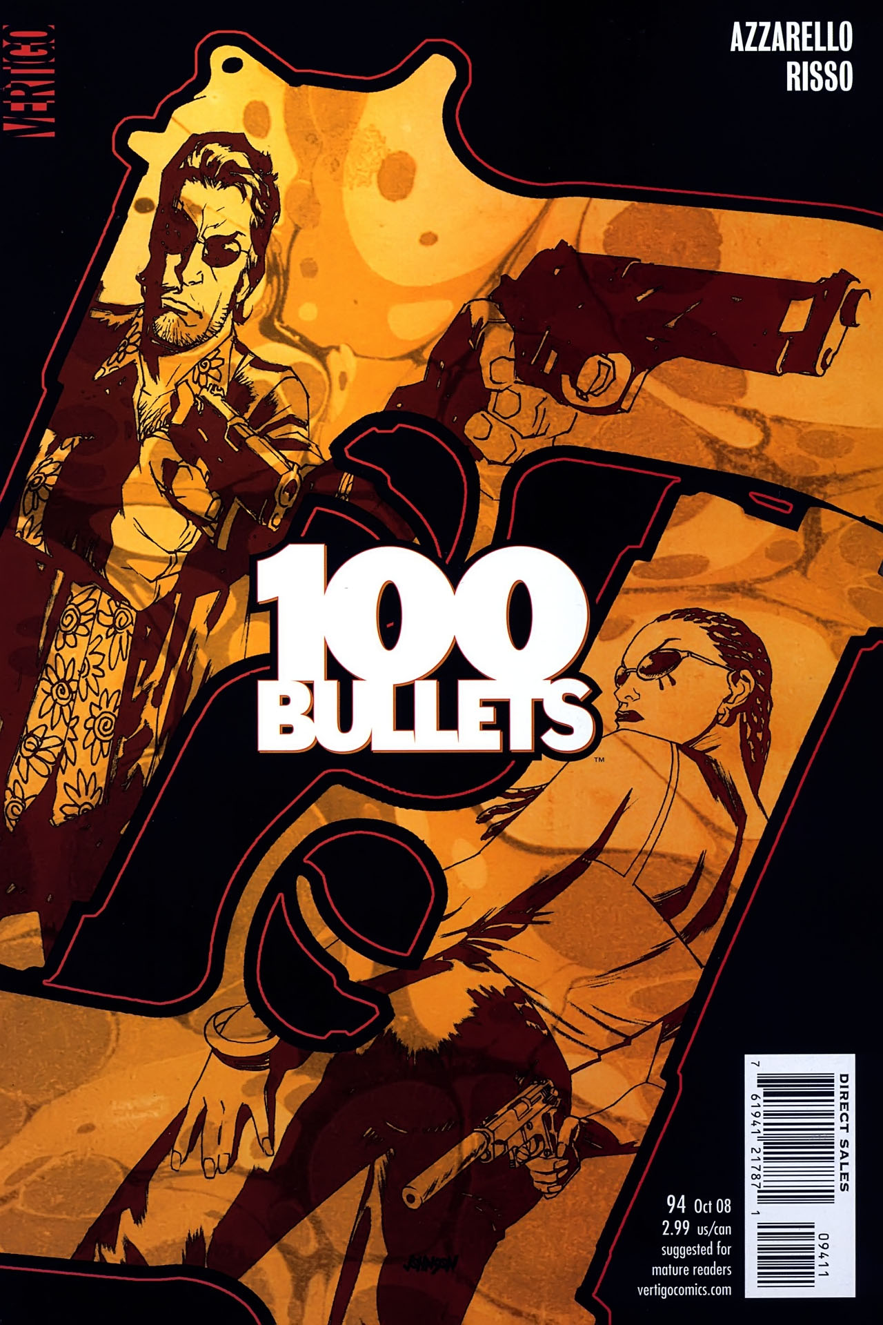 Read online 100 Bullets comic -  Issue #94 - 1