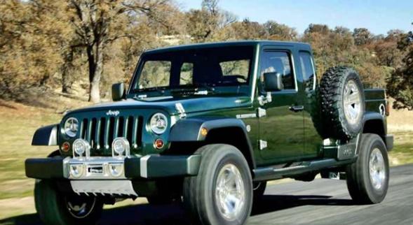 2018 Jeep Wrangler Diesel JL Pickup
