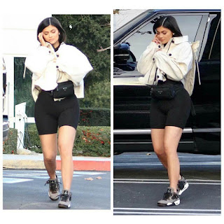 Kylie Jenner Steps Out In Public For The First Time Since Welcoming Her Daughter, Stormi.