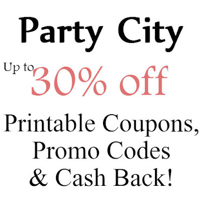 Party City Printable Coupon February, March, April, May, June, July 2016