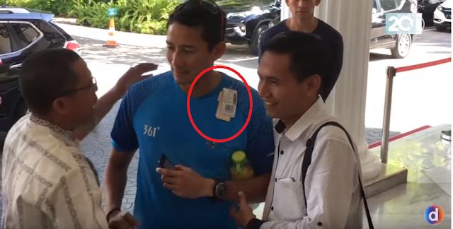 Sandiaga Uno Pakai Kaos Masih dengan Label-labelnya, Tak Disangka Komentar Netizen, Nyelekit Tapi Bikin Ngakak....