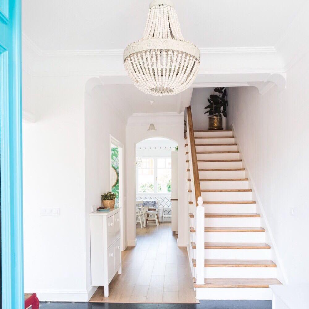 casa de los sueños balamoda decoración entrada y escalera