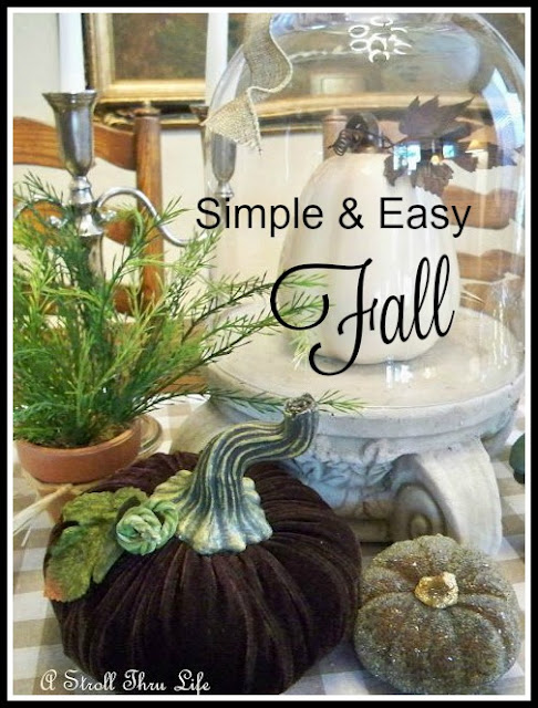 9 Simple and Easy Fall Vignettes