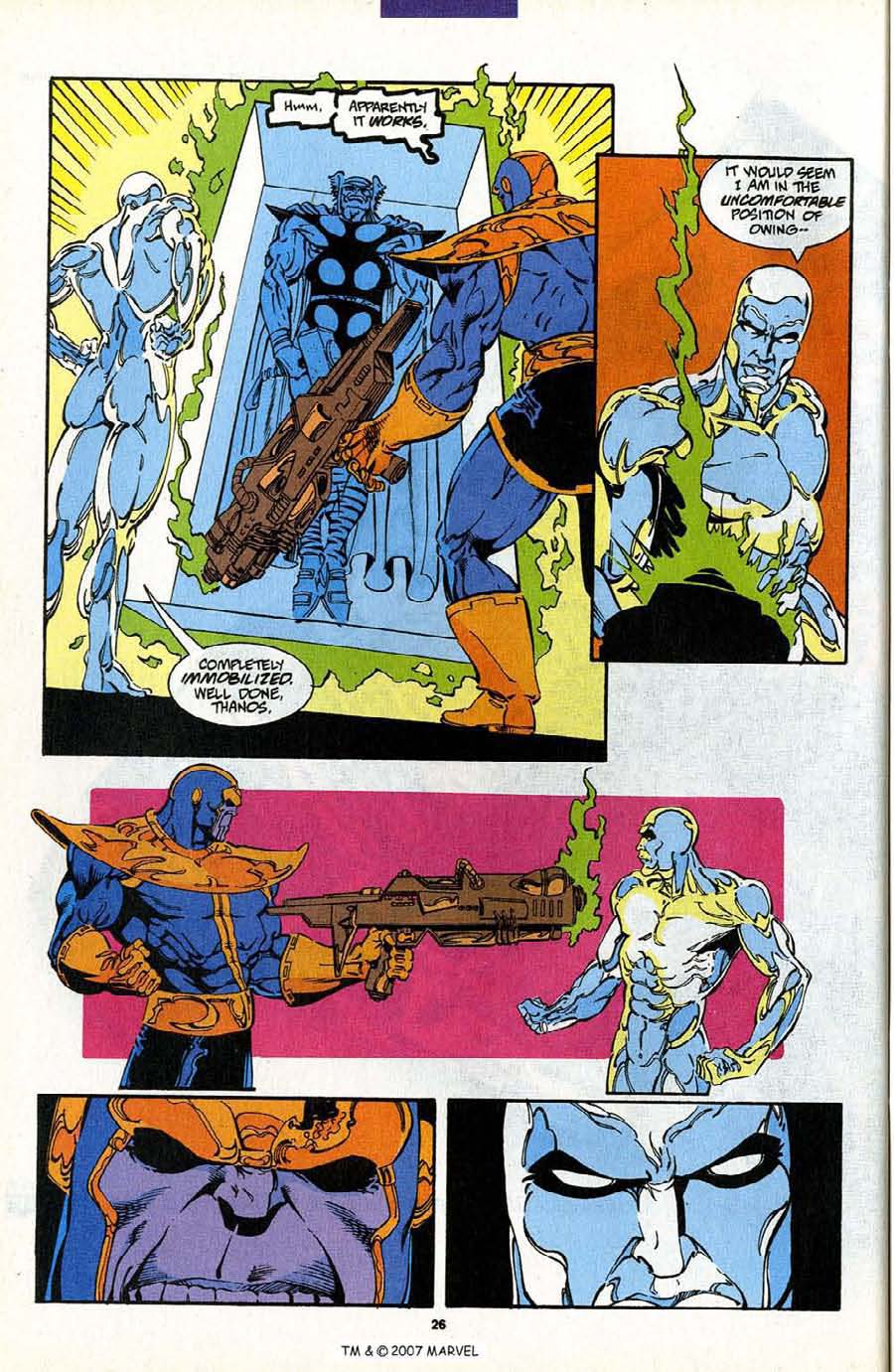 Read online Silver Surfer (1987) comic -  Issue #88 - 44