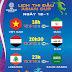 Lịch trực tiếp Asian Cup 2019 ngày 12-1: Việt Nam đấu Iran