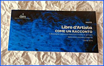 LIBRO D'ARTISTA A UDINE