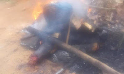 Suspected Badoo Member Who Claimed To Be Searching For Food Lynched In Odonguyan, Ikorodu (Photos)