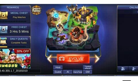 Evolve Mode Mobile Legends