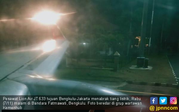 Penyebab Lion Air JT-633 Tabrak Tiang, ini kata Kepala Otban