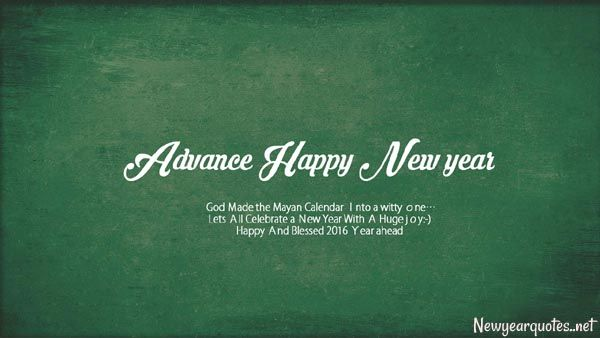 New Year Greetings Wallpaper