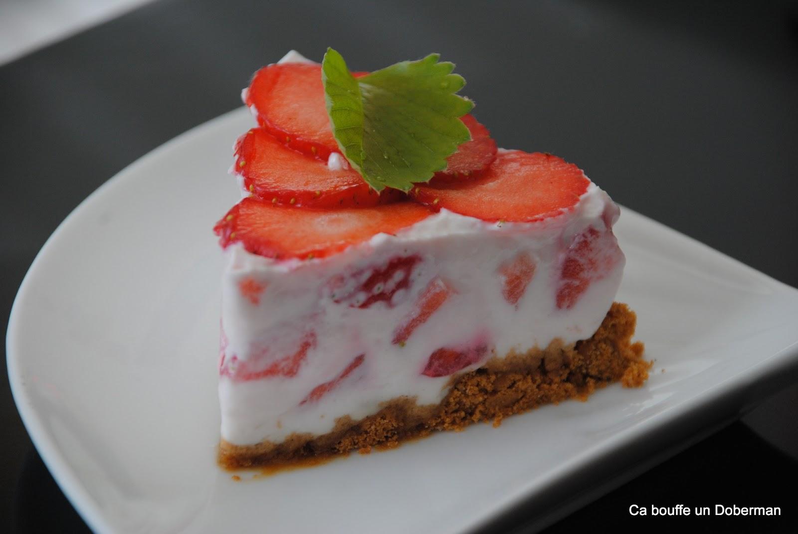 recette dessert l 233 ger et rapide comme un cheesecake 224 la fraise ultra blogs de cuisine
