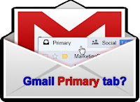 new gmail primary tab