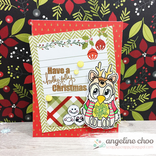 ScrappyScrappy: Brentwood Christmas and Fairytale cards with JLO Stamps #scrappyscrappy #jlostamps #stamp #stamping #card #cardmaking #papercraft #christmas #holiday #fairytale #brentwood #dcwv #freckledfawn