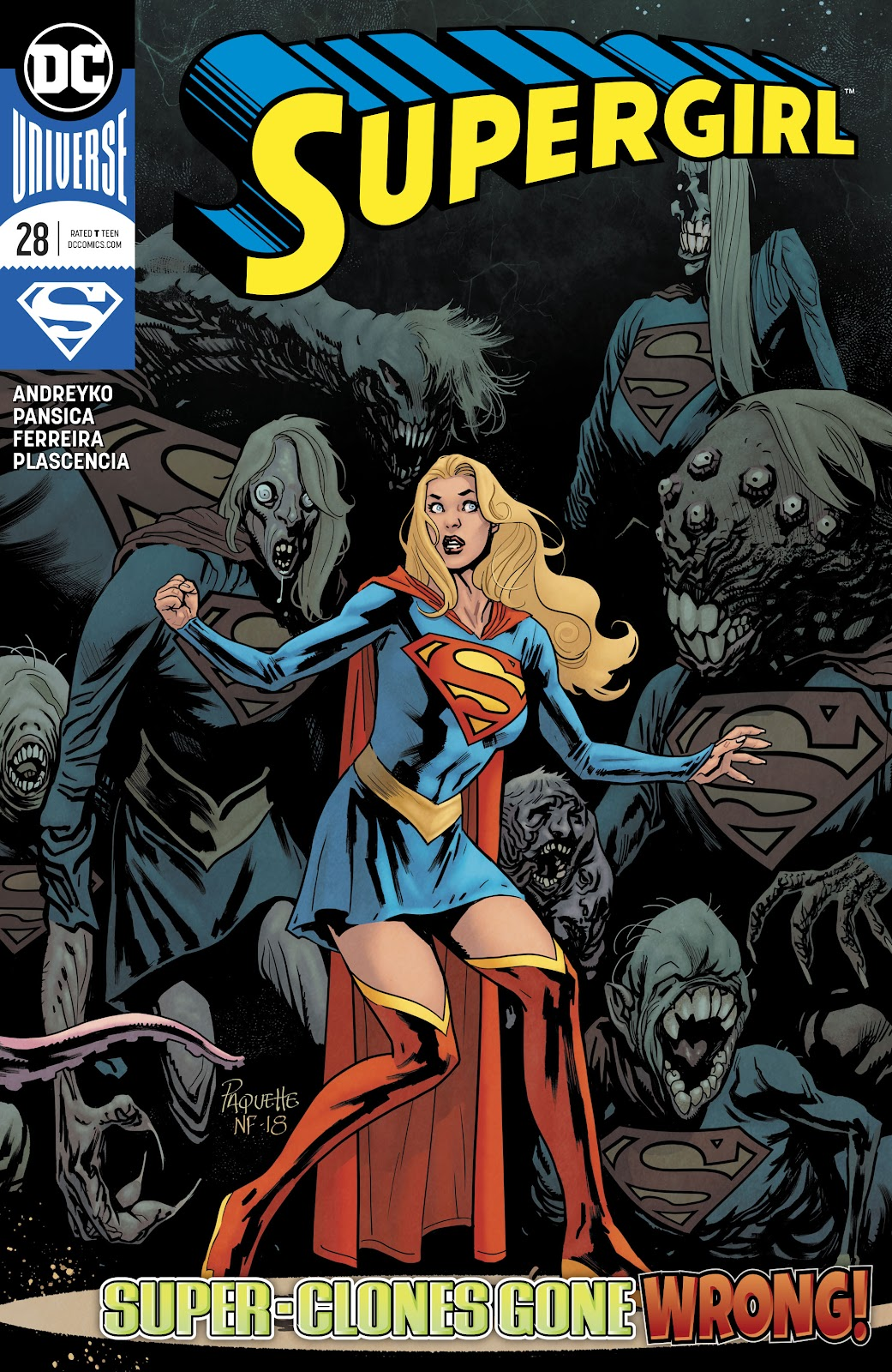 Supergirl (2016) issue 28 - Page 1