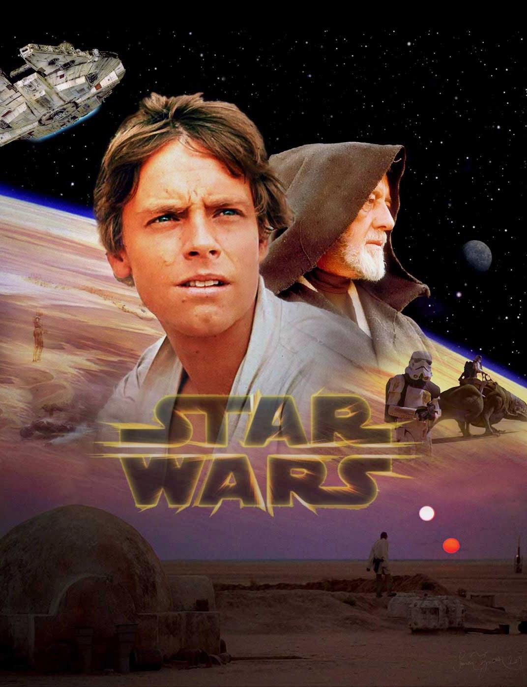 Star Wars - Tatooine Poster