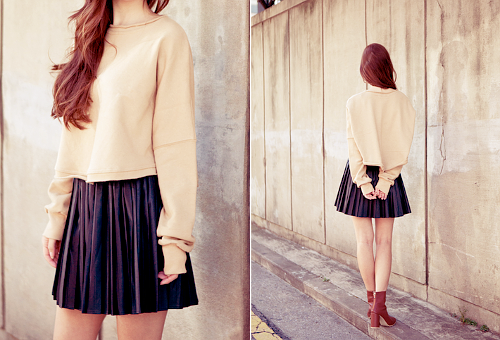 How to style: oversized truien. Yara Möller Girlscene