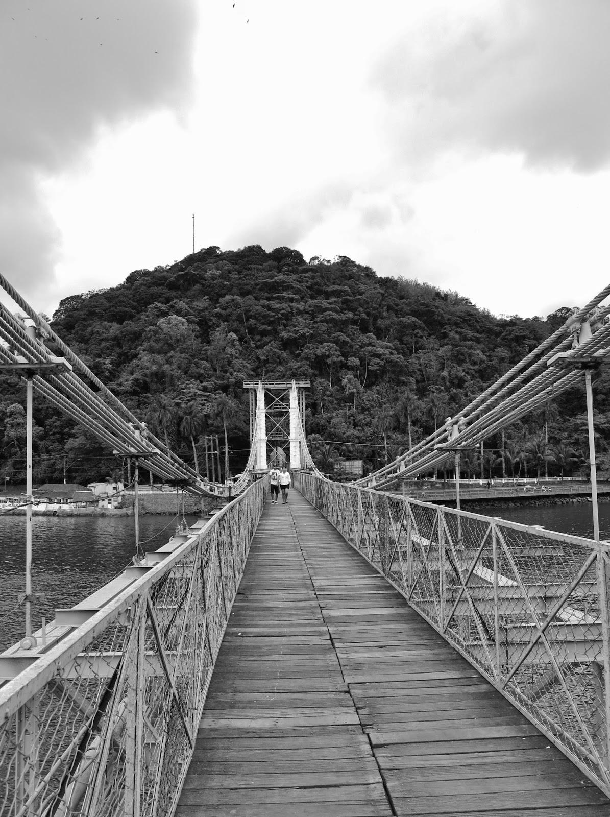 Ponte Pênsil de São Vicente.